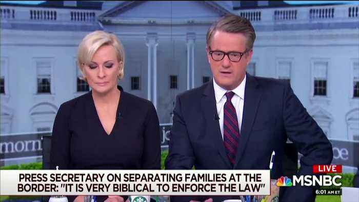 News video: WH: Joe Scarborough's Comparison Of U.S. Border Policy To Nazis Is 'Appalling'