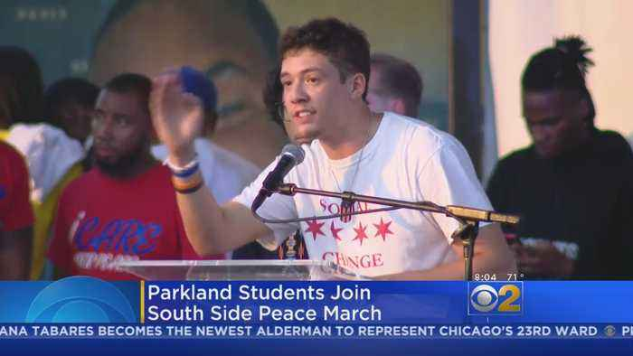News video: Parkland Students In Chicago For Peace Rally
