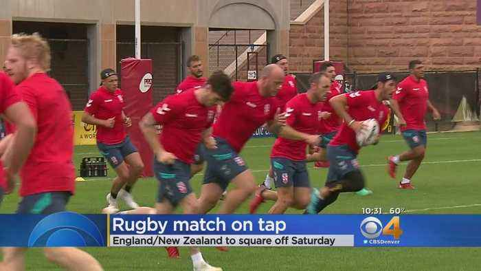 Big Rugby Match On Tap In Denver