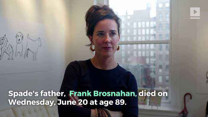 News video: Kate Spade's Father Dies the Night Before Her Funeral