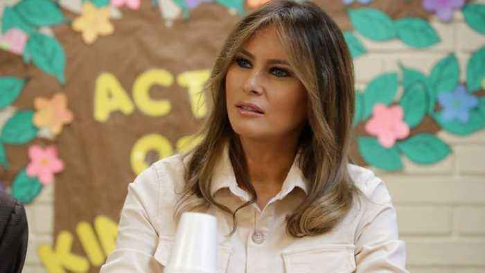 First Lady Melania Trump Visits Child Detention Center