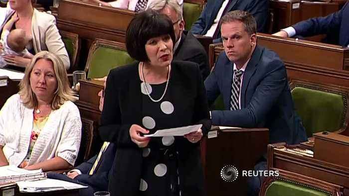 Canadian MP breastfeeds during questions period