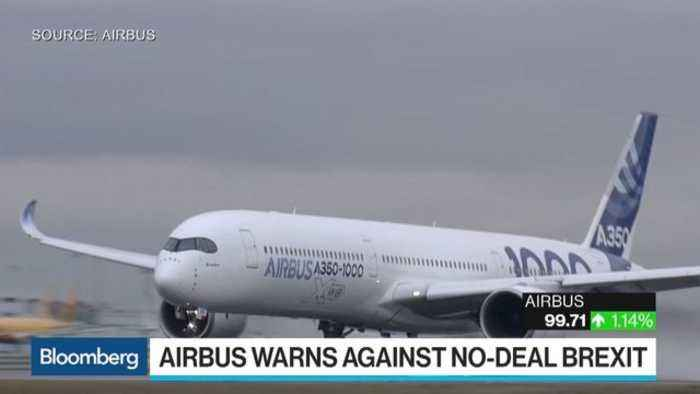 News video: Airbus Warns of Pulling U.K. Investments on a No-Deal Brexit