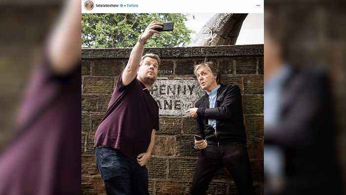 News video: Paul McCartney and an Emotional James Corden Take the Ride of Their Lives for Carpool Karaoke