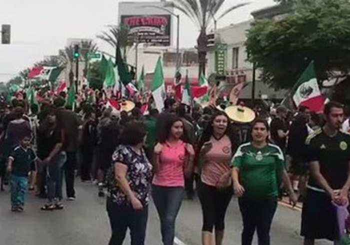 Mexico Fans Celebrate World Cup Victory In East One News