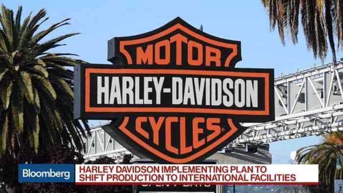 harley davidson to counter eu tariffs by moving one news page video. Black Bedroom Furniture Sets. Home Design Ideas