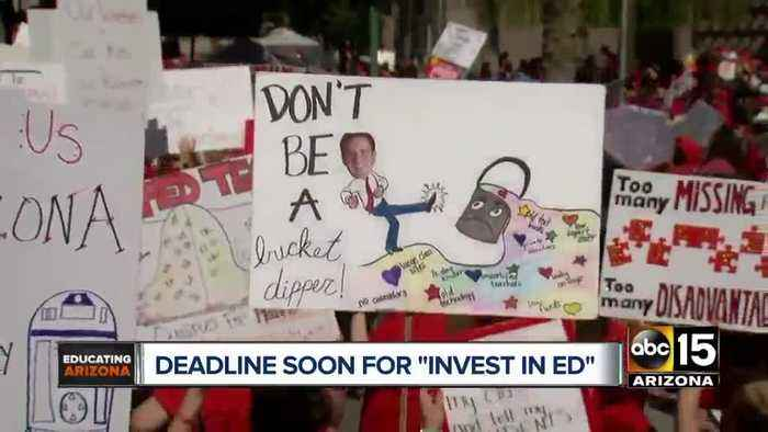 News video: Teen dies in Phoenix officer-involved shooting; Invest in Ed rally; New law for teen drivers in Arizona