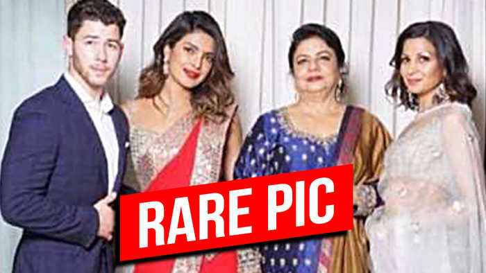 News video: UNSEEN MOMENT Of Priyanka Chopra Nick Jonas From Akash Ambani Shloka Mehta's Engagement Bash