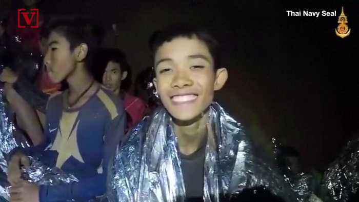 News video: 'I Am Healthy': Boy Speaks in New Video of Trapped Thai Soccer Team