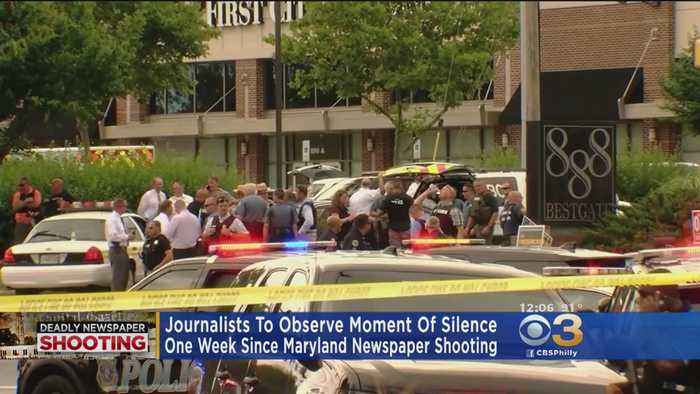 Capital Gazette Shooting: Journalists To Observe Moment Of Silence