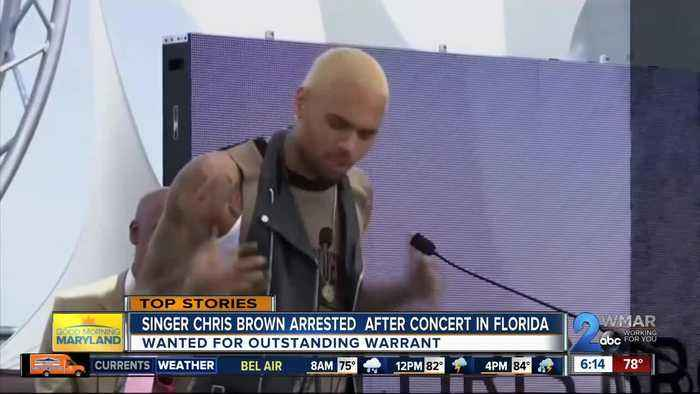 News video: Singer Chris Brown arrested in Florida