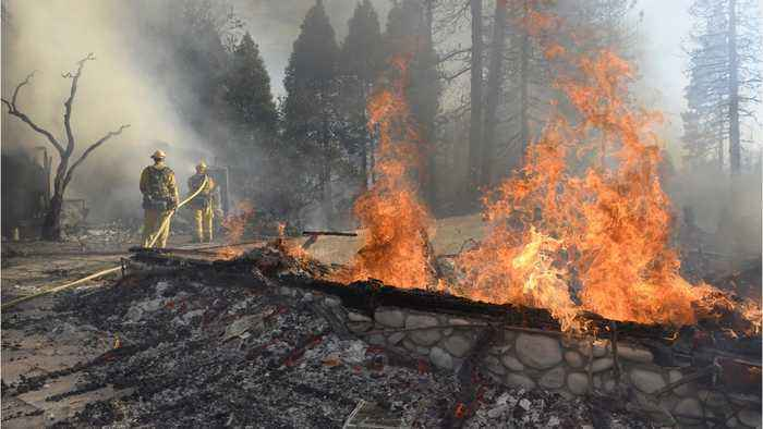New Wildfire In Northern California Kills One, Spurs Evacuation