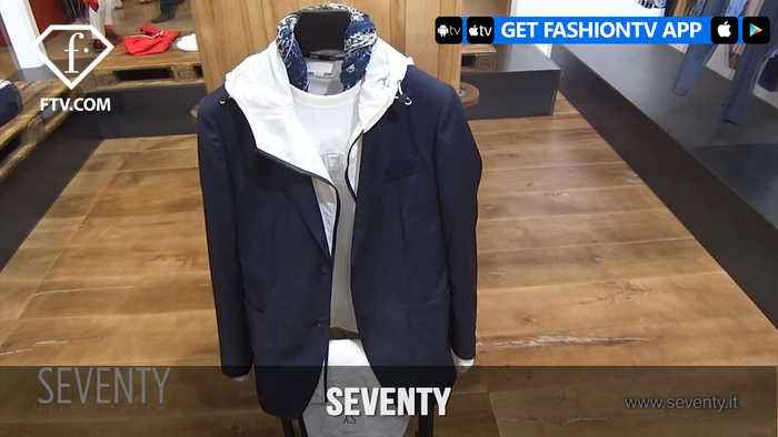 News video: SEVENTY ITALY SS18 COLLECTION | FashionTV | FTV