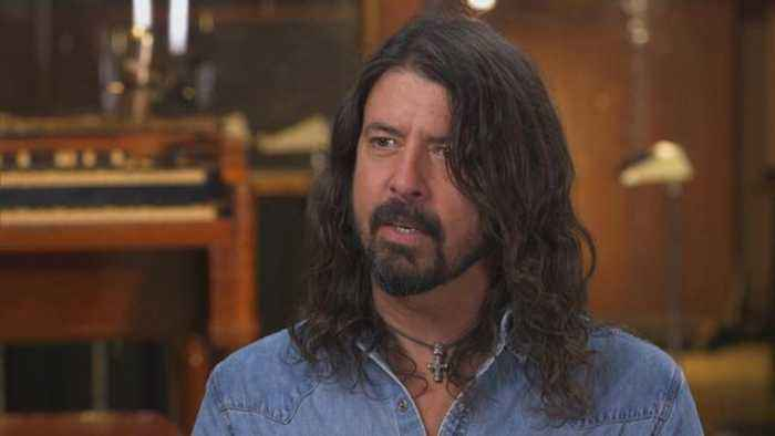 News video: Dave Grohl of Foo Fighters on music after Kurt Cobain
