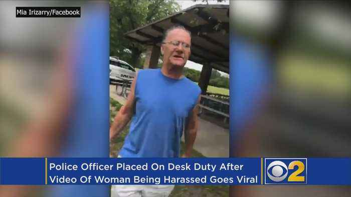 News video: Police Officer Stands By As Man Harasses Woman For Wearing Puerto Rico Shirt In Forest Preserve
