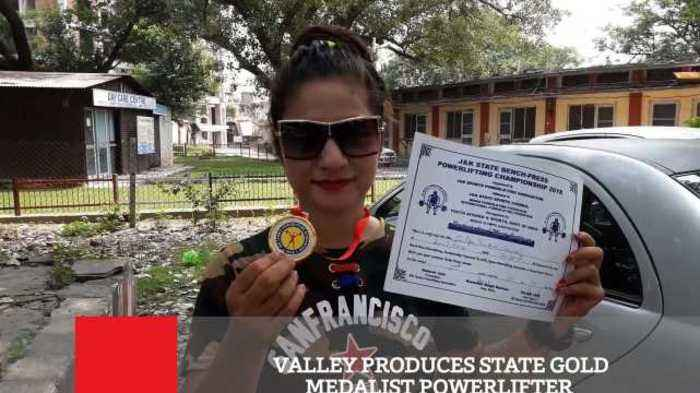 News video: Valley Produces State Gold Medalist Powerlifter