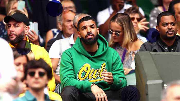 News video: Drake Catches Ex Serena Williams' Match At Wimbledon
