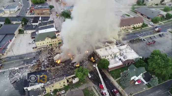 News video: Massive Gas Explosion In Wisconsin