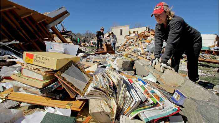 Death and Destruction Brought By North Dakota Tornado