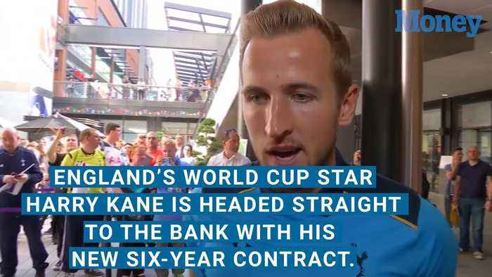 Harry Kane Is Headed Straight to the Bank With His New Contract