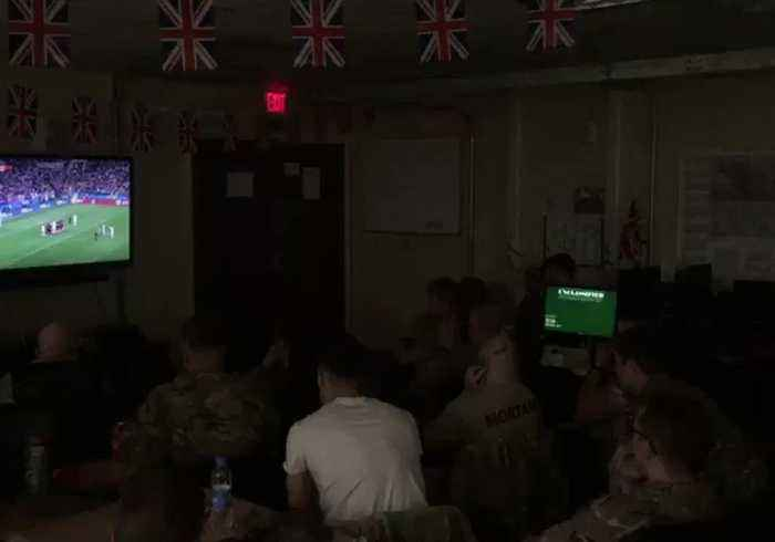 News video: Grenadier Guards Celebrate Trippier Goal in Afghanistan