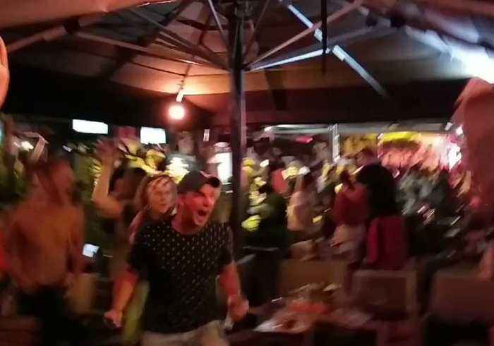 News video: Fans Celebrate Croatia's Win Over England, Earning Spot in World Cup Final