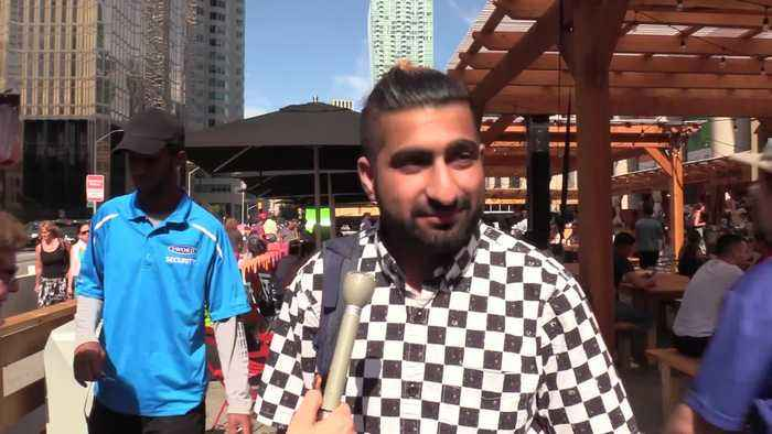 News video: World Cup final: Fans share who they'll cheer for