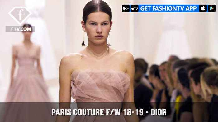 News video: Dior Purity Paris Haute Couture Fall/Winter 2018-19 Collection | FashionTV | FTV