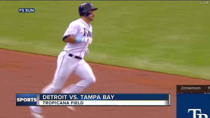 C.J. Cron's homer lifts Tampa Bay Rays to 4-2 win over Detroit Tigers