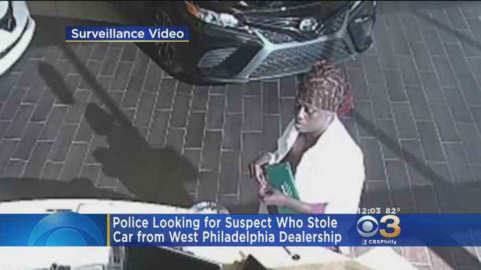 News video: Police: Dealership Employee Dragged Several Feet As Woman Drives Off With Car