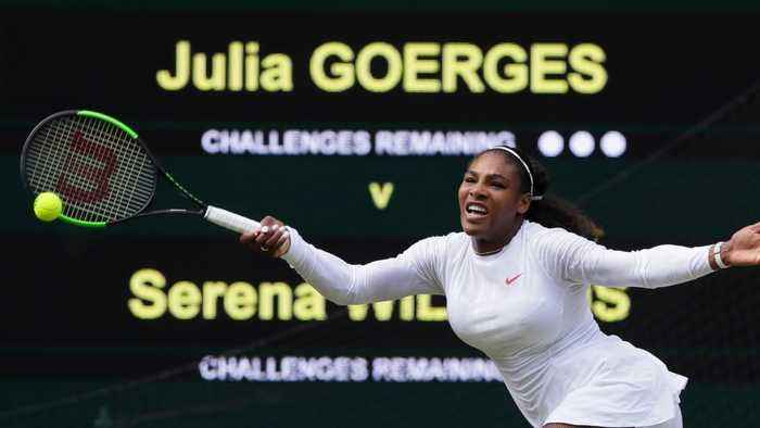 News video: Serena Williams Advances To Wimbledon
