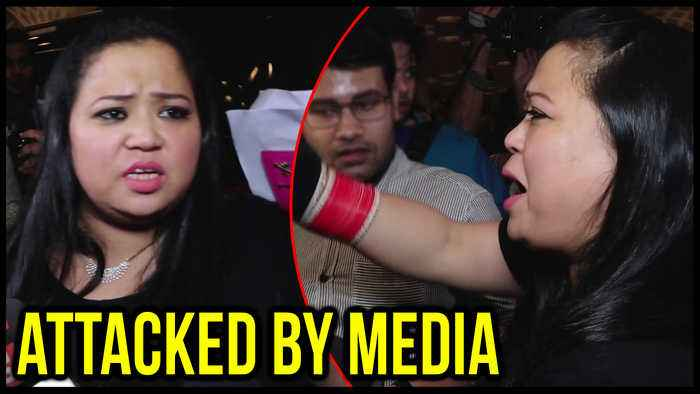 Bharti Singh Gets ANGRY When Mobbed By Media At Airport, Leaves For Argentina