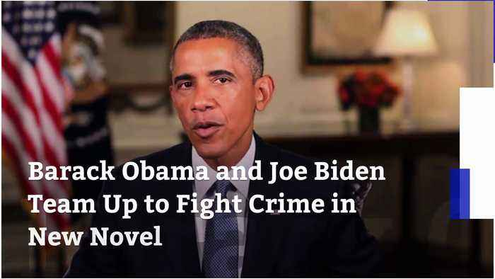 Barack Obama and Joe Biden Team Up to Fight Crime in New Novel