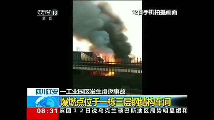Chemical plant blast in China kills 19, injures 12