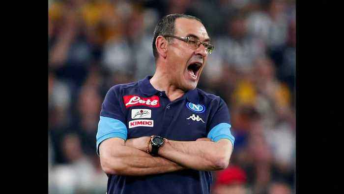 News video: Chelsea sack Conte, reports say lining up Sarri