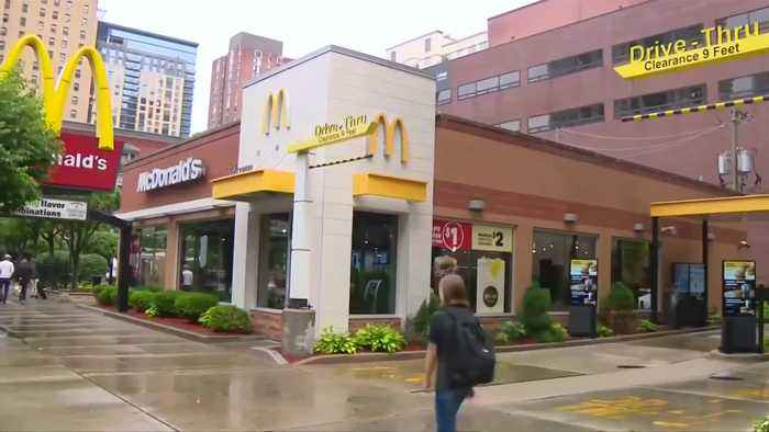 News video: 100 sickened after eating McDonald's salads