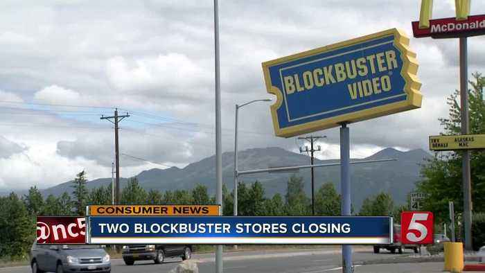 News video: Alaska's 2 Blockbuster Stores Closing