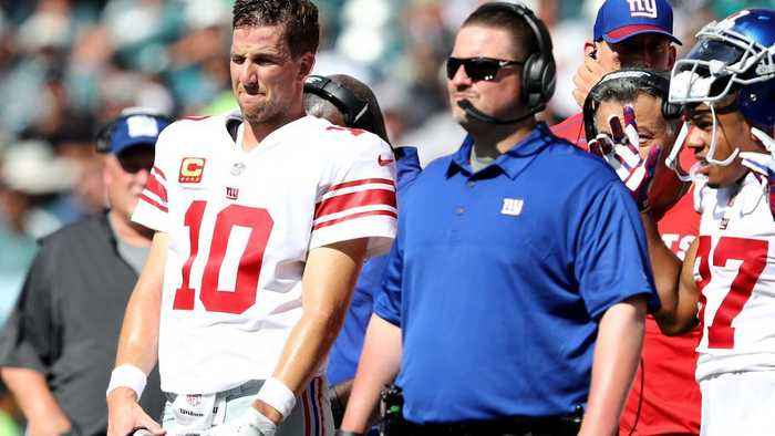 Ex-Giants Coach Ben McAdoo Talks Division, Rips Offensive Line