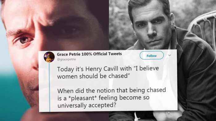 News video: Henry Cavill SLAMMED For #MeToo Comments & Issues Apology