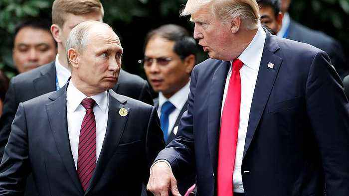 News video: Donald Trump has 'low expectations' for Helsinki summit