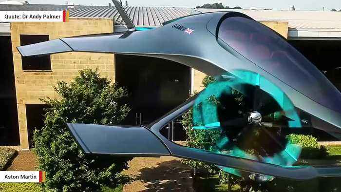 Aston Martin S Flying Car Concept Is A Feast For One News Page Video