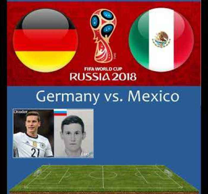 World Cup Match Of The Day - Germany vs Mexico
