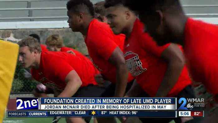 Foundation created in memory of late UMD football player