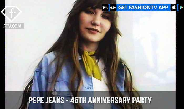 News video: Pepe Jeans London Celebrates 45th Anniversary with a Fashion Party | FashionTV | FTV