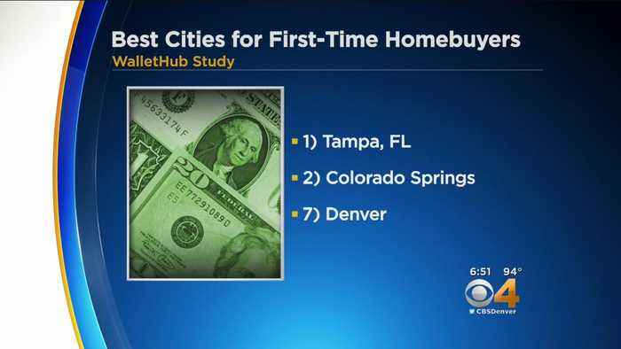 News video: Denver Ranked As One Of The Best Cities For First Time Home Buyers