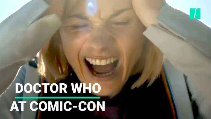 First Female Doctor Who Talks At Comic-Con