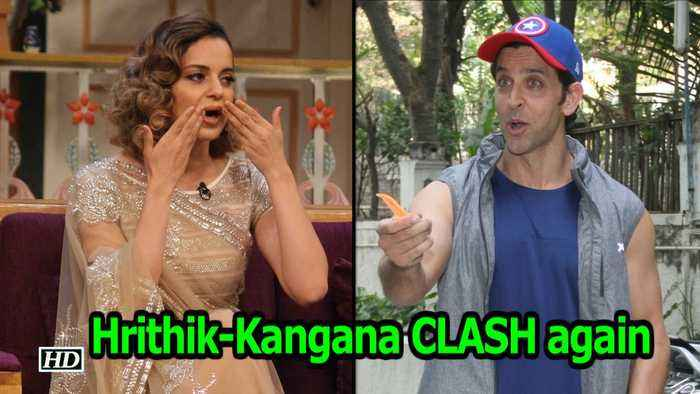 News video: Hrithik-Kangana CLASH again | Manikarnika Vs Super 30