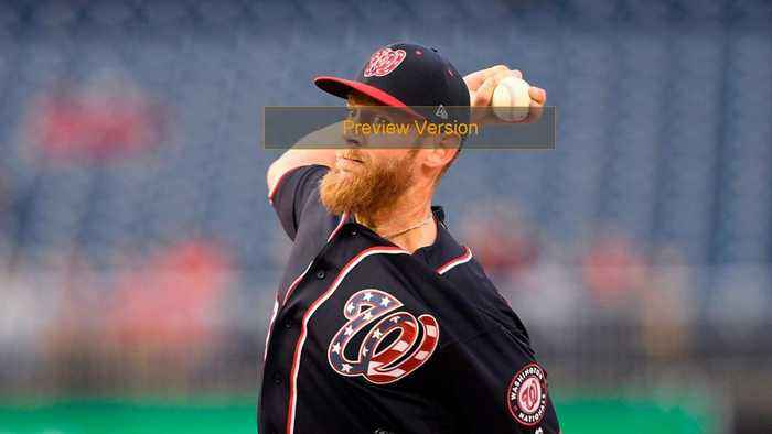Stephen Strasburg Pummeled In Return To The Mound