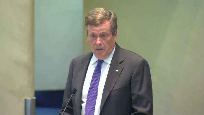 Toronto shocked by 'cowardly act': Mayor