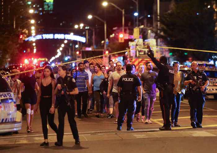Mass Shooting in Toronto Leaves Two Dead, 12 Wounded